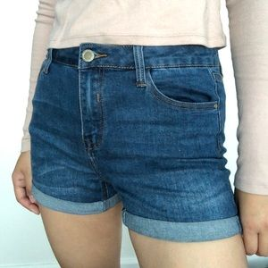 Papaya (Brand: I&M) High Rise Jean Shorts Size M